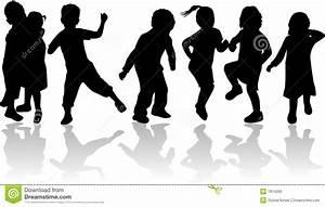 Kids Dancing Silhouette | www.pixshark.com - Images ...