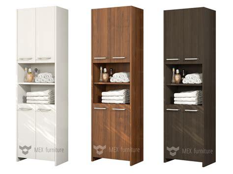 tall bathroom cabinet with doors modern tall bathroom storage m232 4 doors cabinet mex