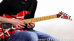 Eddie Van Halen Style Tapping Lick 2 By Martin Goulding