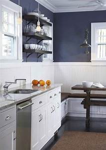 beadboard kitchen walls contemporary kitchen With kitchen colors with white cabinets with terracotta wall art