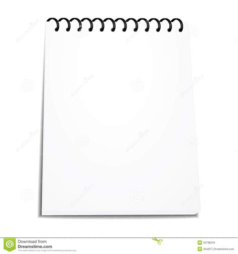 binder clipart black and white vector spiral notebook stack of ring binder isolated stock