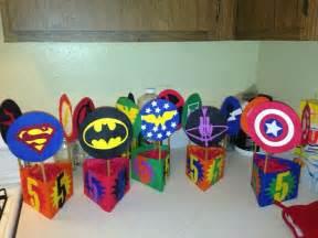 batman centerpieces my 39 s 1st birthday party ideas on