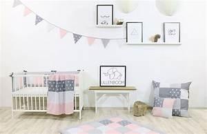 Kinderzimmer Rosa Grau : wimpelkette 325 cm rosa grau kinderzimmer ausstattung wimpelketten ~ Orissabook.com Haus und Dekorationen