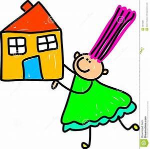 Haus Verschenken An Kind : haus kind stockbild bild 18119261 ~ Lizthompson.info Haus und Dekorationen