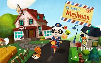 Panda Dr Mailman Play