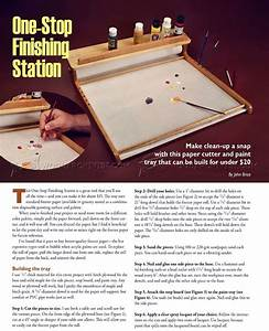 One-Stop Finishing Station • WoodArchivist