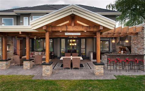 back porch flooring ideas outdoor kitchens by premier deck and patios san antonio tx