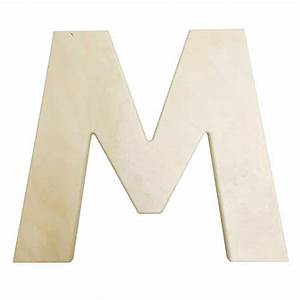 large wooden letters 12 inch unfinished wood letter m With large wooden craft letters