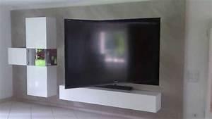 Tv 85 Zoll : 85 zoll schwenksystem made by flatlift youtube ~ Watch28wear.com Haus und Dekorationen