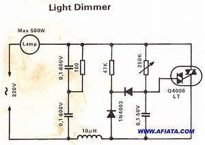 Simple Light Dimmer Circuit
