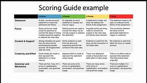 Don Goble On Twitter   U0026quot Scoring Guide Example For Six Word