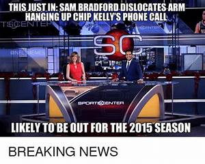 THISUUSTIN SAM BRADFORD DISLOCATES ARM HANGING UP CHIP ...