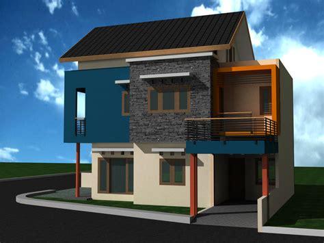 gambar rumah minimalis  rancangan rumah  tata
