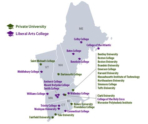 yale campus map top college values in new england