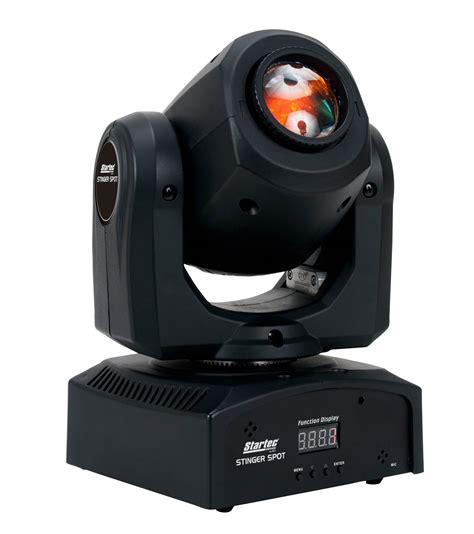 dj led moving head light american dj adj stinger spot 10 watt led mini moving head