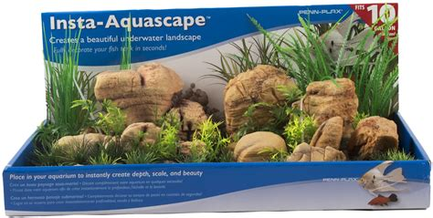 Aquascape Store by Penn Plax Insta Aquascape 2 10 Gallon Tank Decor