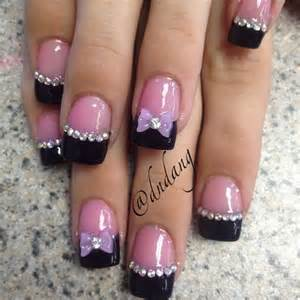 Wonderful bow nail art designs styletic