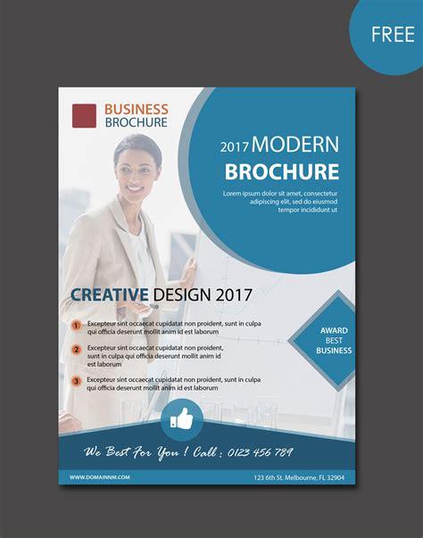 Modern Brochure Template by Free Modern Brochure Templates