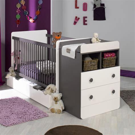 chambre evolutif simple lit bebe evolutif avec tiroir blanc taupe x with
