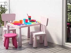 Mobilier Jardin Ikea : salon de jardin pour enfants du mobilier comme les grands joli place ~ Teatrodelosmanantiales.com Idées de Décoration