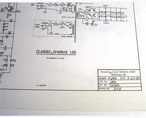 Peavey Classic Chorus 130 Amplifier Schematic And Diagram