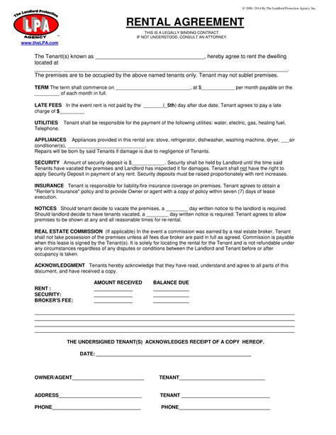 agreement templates  examples  examples