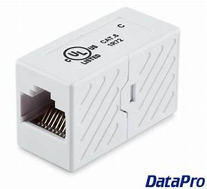 Ethernet Cat5e  Cat6 Coupler