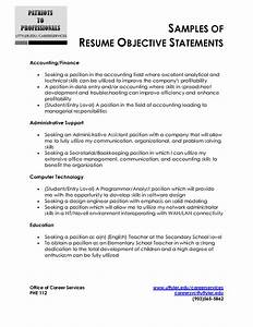 Resume Examples Templates Basic Resume Objective
