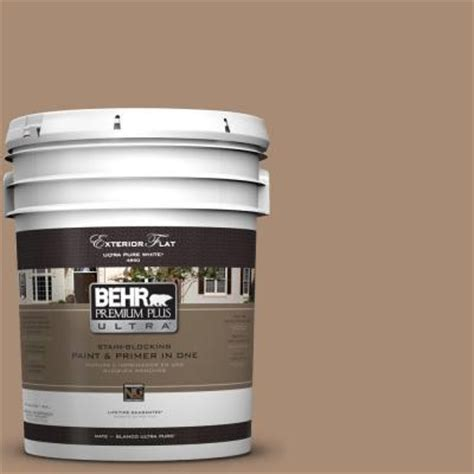 behr premium plus ultra 5 gal n240 5 rodeo flat