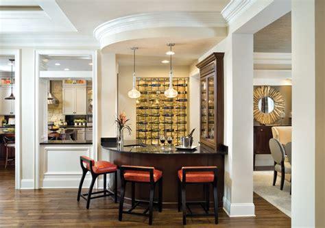 bordeaux  model bc wet bar luxury house plans living room bar custom home plans