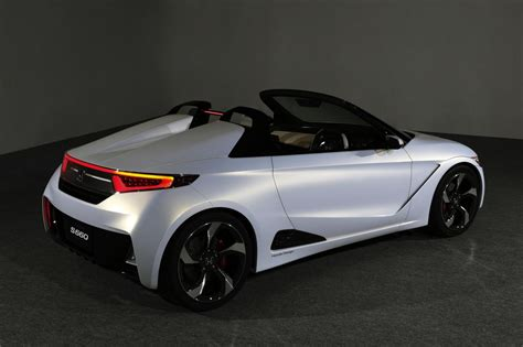 Honda S660 Sports Car Concept To Debut At Tokyo Motor Show