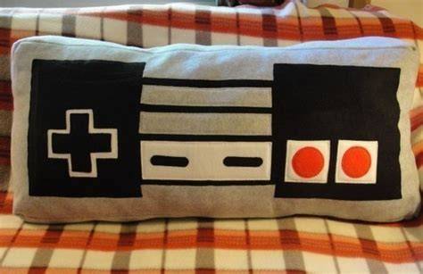 Nes Controller Rug And Cushion