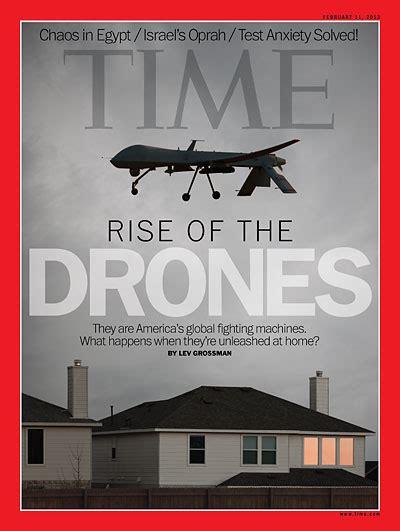 time magazine cover rise   drones feb