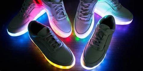 les chaussures lumineuses sont elles dangereuses