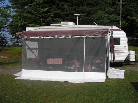 Rv Awning Screen Room -­ Read This Before Buying One