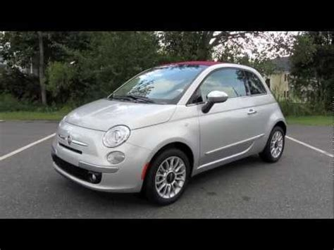 2012 Fiat 500c by 2012 Fiat 500c Lounge Start Up Exhaust And In Depth Tour