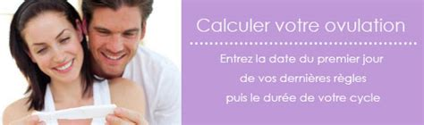 calculer cycle calcul de l ovulation