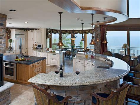 circular kitchen design classic kitchen design with half shape 2211