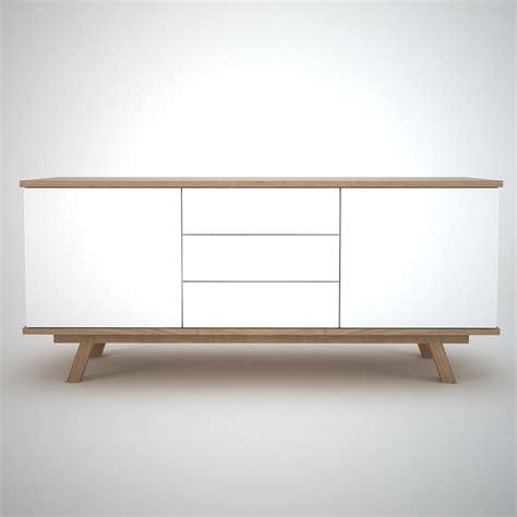 White Sideboard Modern by Ottawa Sideboard 2 3 White Join Furniture