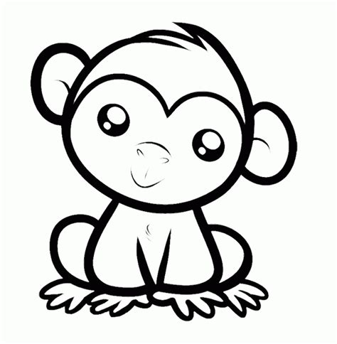 cartoon monkeys coloring pages coloring home