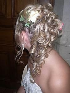 Coiffure Pour Cheveux Mi Longs : coiffure mariage pour cheveux mi long ~ Melissatoandfro.com Idées de Décoration