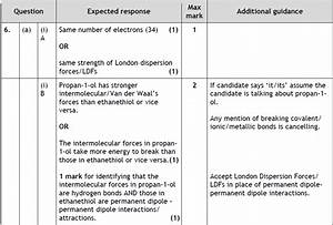 Marking Guide  Unit 1d1  U2013 Structure And Bonding  U2013 Higher