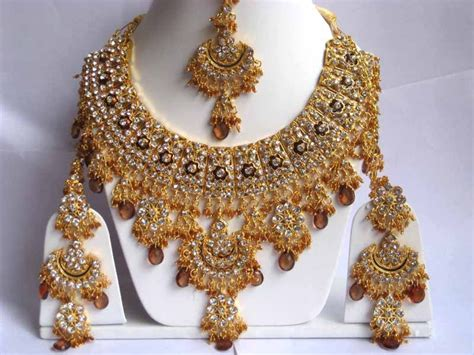 Wedding Jewelry Sets For Brides : Indian Bridal Jewellery Designs