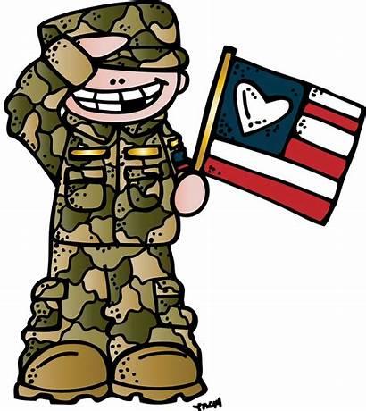 Heart Always Melonheadz Clip Army Memorial Veterans