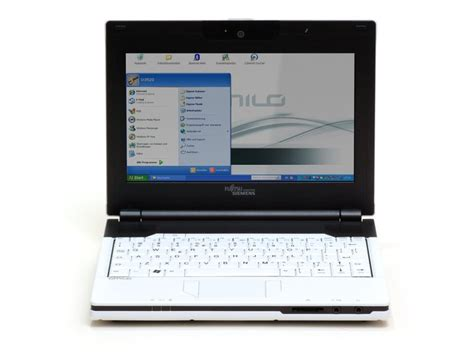 Fujitsusiemens Amilo Mini Ui3520 Notebookchecknet