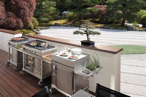 cuisine d exterieur cuisine extérieure 15 modèles pratiques et esthétiques