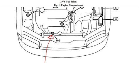 1996 Geo Prizm Wiring Diagram by 1996 Geo Prizm Engine Diagram Wiring Diagram Information