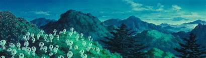Dual Kodama Ghibli Studio Monitor Princess Miyazaki