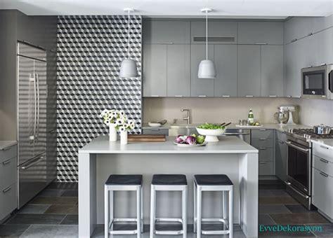 gray kitchen cabinet ideas motifli mutfak duvarları ev dekorasyonu 3923