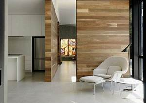 Planche De Bois Pour Mur Intérieur : oser poser du plancher sur les murs d conome ~ Zukunftsfamilie.com Idées de Décoration